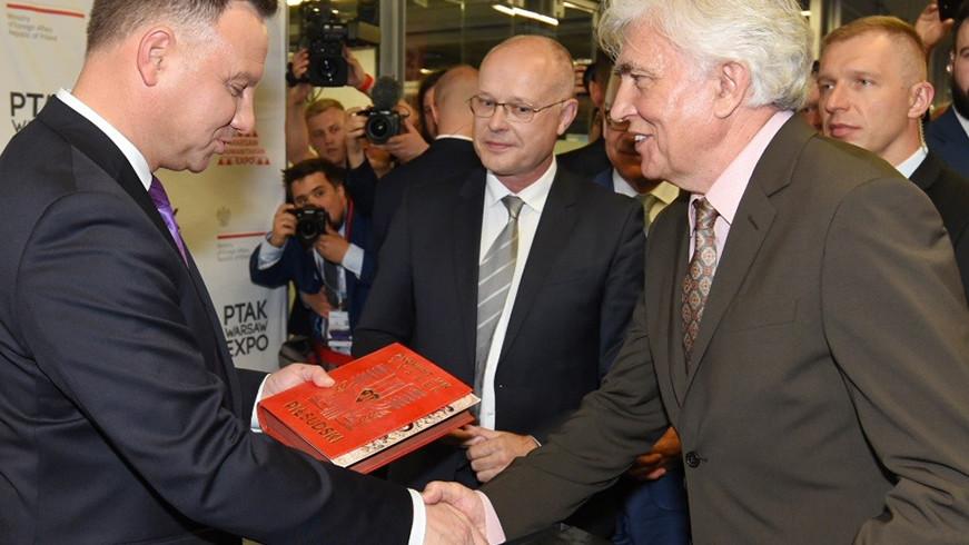 Andrzej Duda w PWE