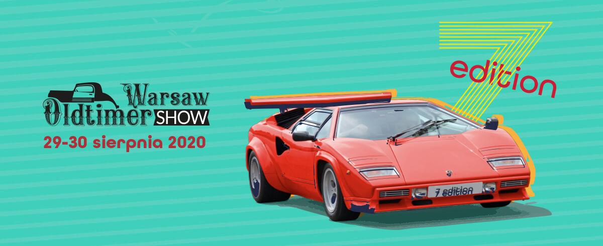 Warsaw Oldtimer Show, 29-30 sierpnia 2020