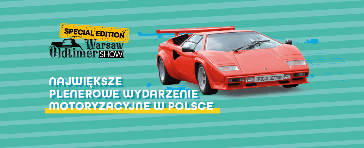 Specjalna edycja Warsaw Oldtimer Show!