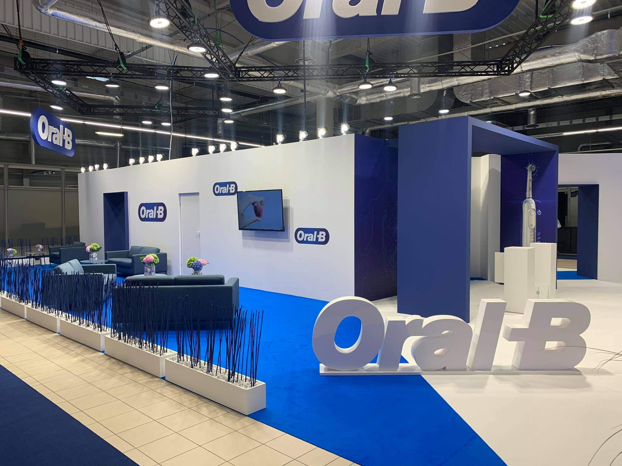 Warsaw Dental Medica Show 2020 stoisko ORAL-B