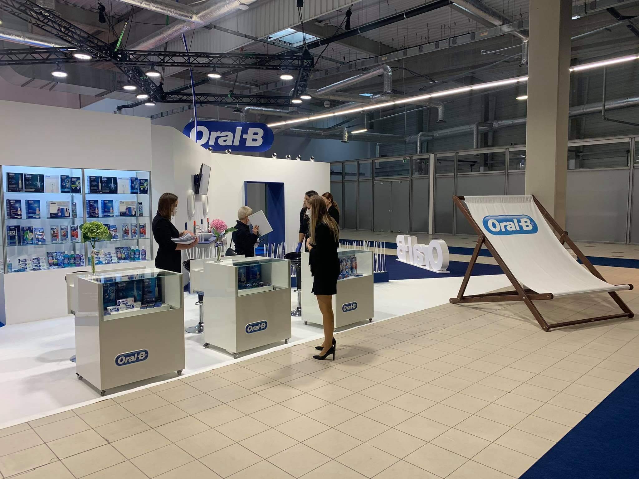 Warsaw Dental Medica Show stoisko ORAL-B