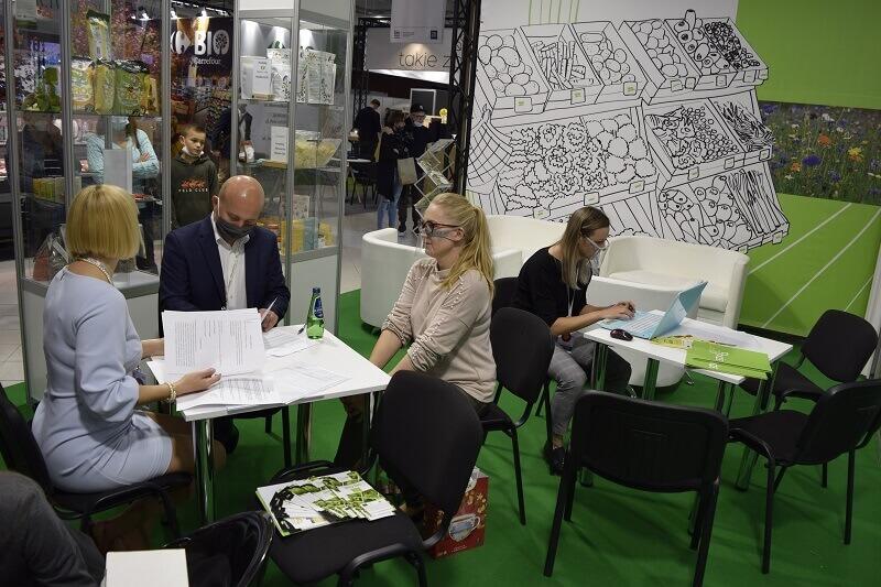 kontraktacje podczas targów BIOEXPO Warsaw 2020