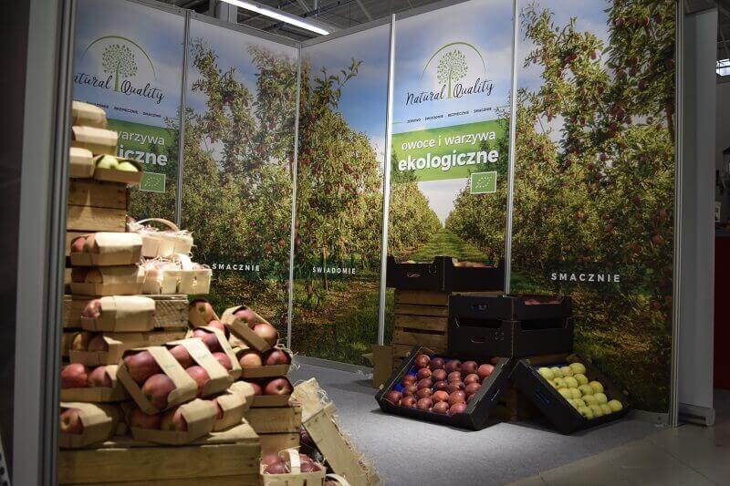 ekologiczne owoce i warzywa na targach BIOEXPO Warsaw 2020