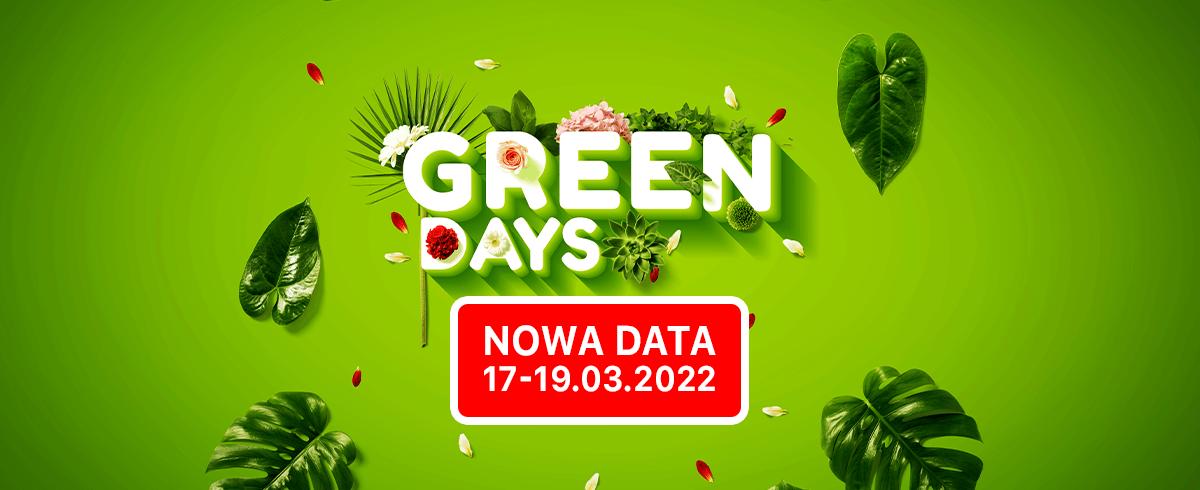 Targi Green Days w nowym terminie