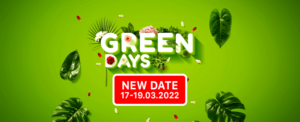 The Green Days fair with a new date