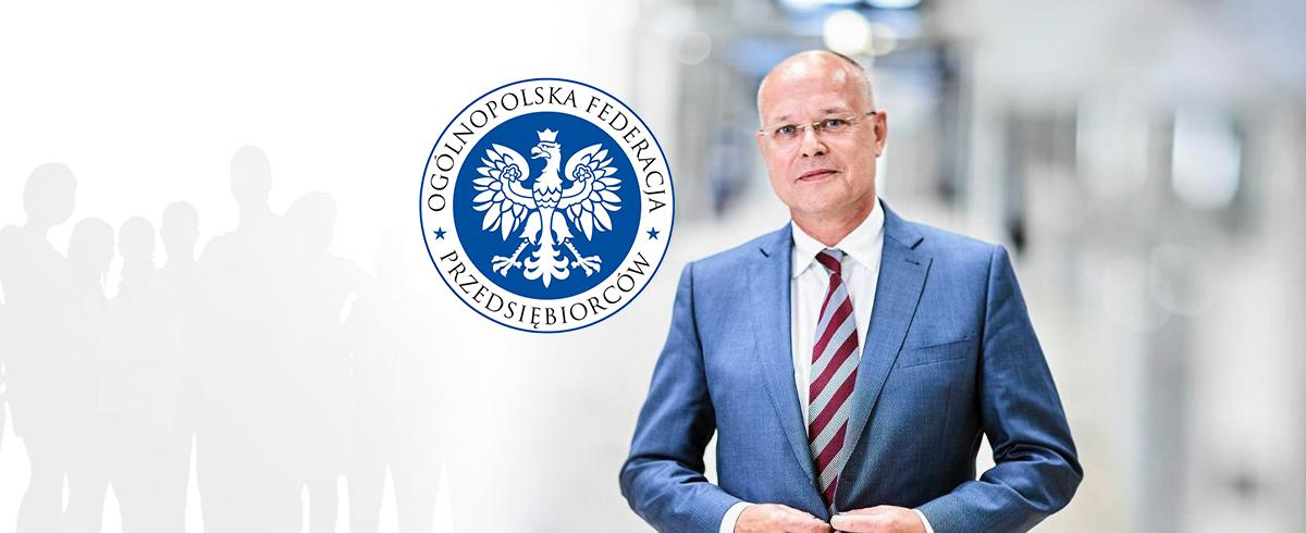 Tomasz Szypuła nowym Prezesem Ogólnopolskiej Federacji Przedsiębiorców