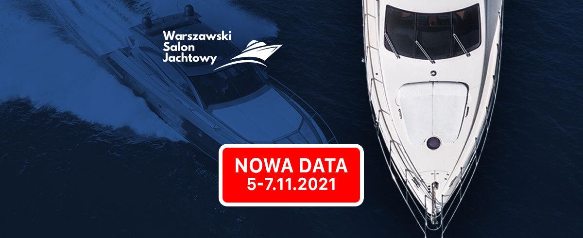 Nowy termin Warszawskiego Salonu Jachtowego