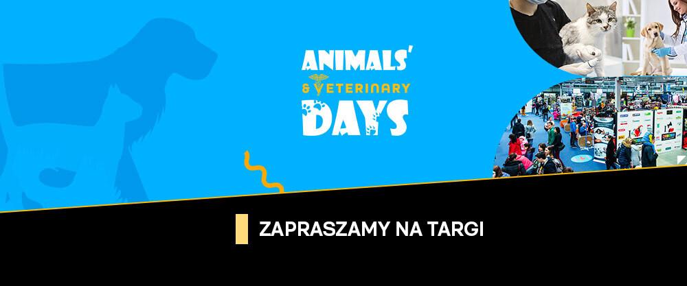 Zaproszenie na targi Animals' & Veterinary Days
